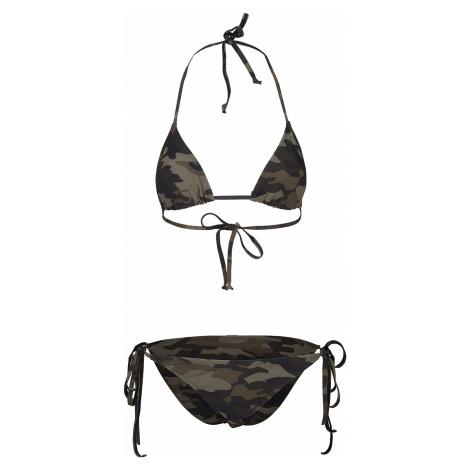 Urban Classics - Ladies Camo Bikini - Bikini - woodland