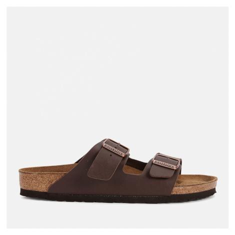 Birkenstock Men's Arizona Double Strap Sandals - Dark Brown - EU 41/UK