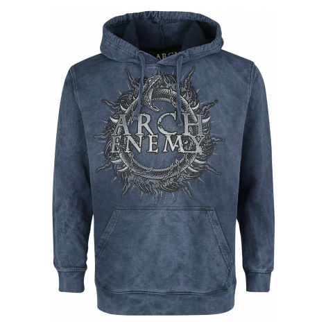 Arch Enemy - Will To Power - Hooded sweatshirt - mottled blue
