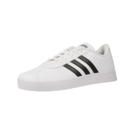 Adidas VL COURT 2.0 K women's Shoes (Trainers) in White