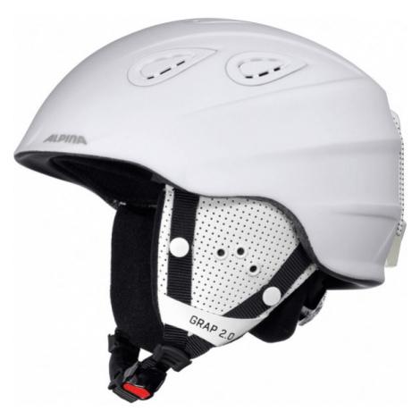 Alpina Sports GRAP 2.0 white - Ski helmet