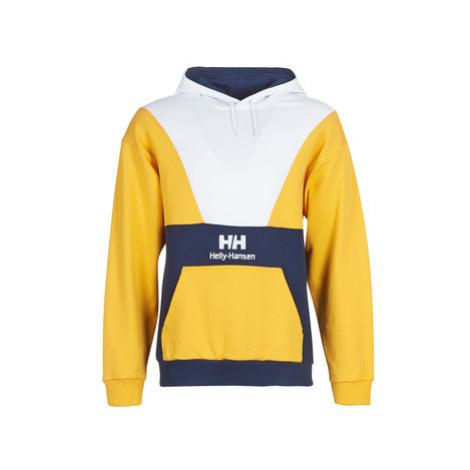 Helly Hansen HH URBAN RETRO HOODIE men's Sweatshirt in Yellow