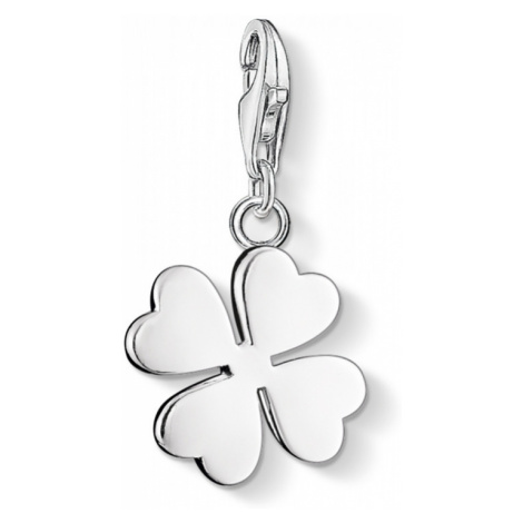 Ladies Thomas Sabo Sterling Silver Charm Club Cloverleaf Charm 0050-001-12