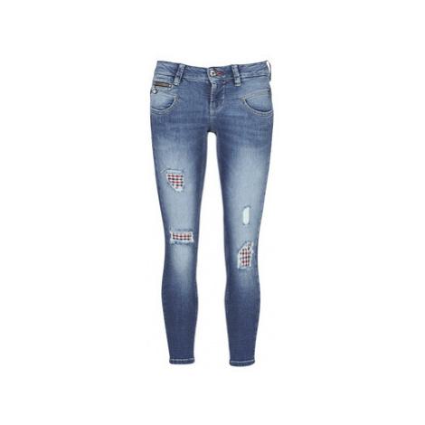 Freeman T.Porter ALEXA CROPPED SDM 7/8 women's Skinny Jeans in Blue Freeman T. Porter