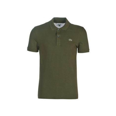 Lacoste PH4012 SLIM men's Polo shirt in Kaki