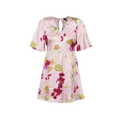 Vero Moda VMJESSICA women's Dress in Pink