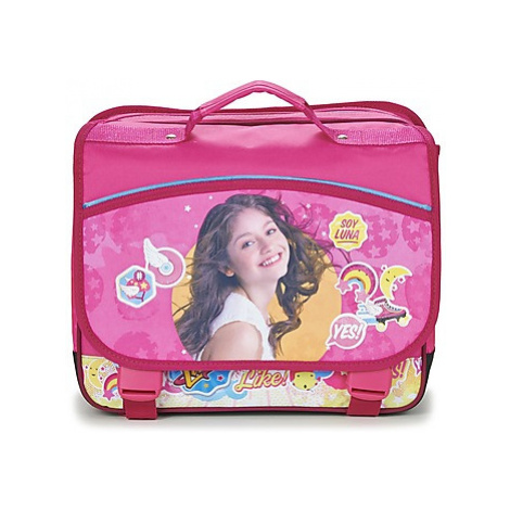 Disney SOY LUNA CARTABLE 38CM girls's Briefcase in Pink