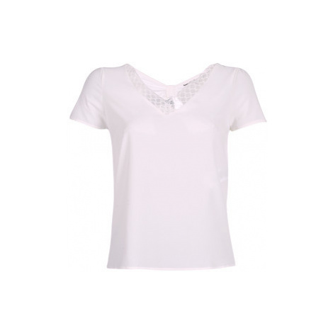 Naf Naf LOUISE2 women's Blouse in White