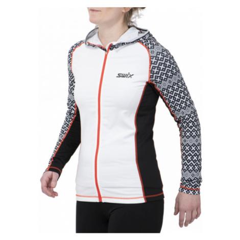 Swix MYRENE white - Women's sports hoodie