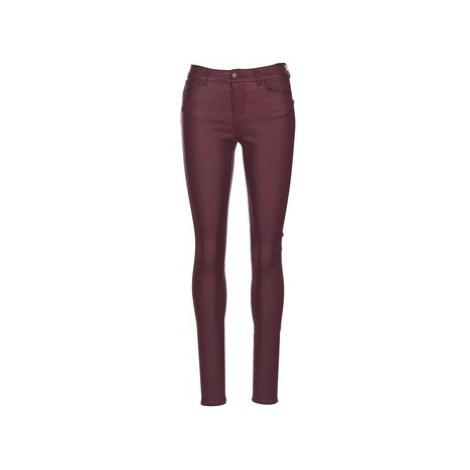 Vero Moda SEVEN women's Skinny Jeans in Red