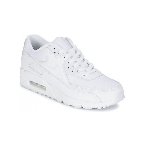 Nike AIR MAX 90 ESSENTIAL men's Shoes (Trainers) in White