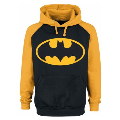 Batman - Logo - Hooded sweatshirt - black-yellow