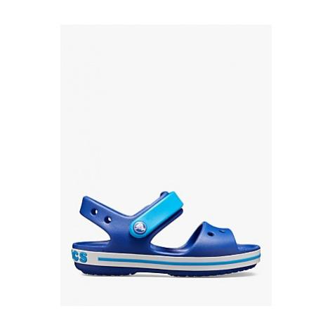 Crocs Children's Crocband Sandals, Cerulean Blue/Ocean