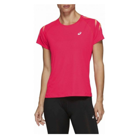 Asics SILVER ICON TOP pink - Women's running T-shirt