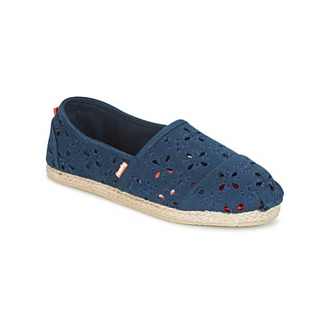 Superdry JETSTREAM ESPADRILLE women's Espadrilles / Casual Shoes in Blue