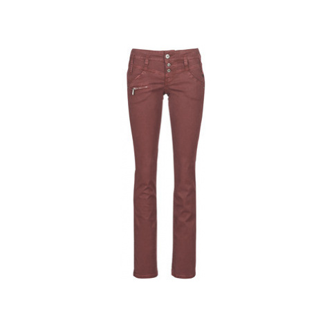 Freeman T.Porter Amelie OILY women's Jeans in Red Freeman T. Porter