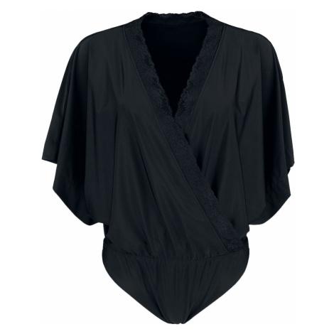 Black Premium by EMP Black Wrap-Look Body with Kimono Sleeves Body black