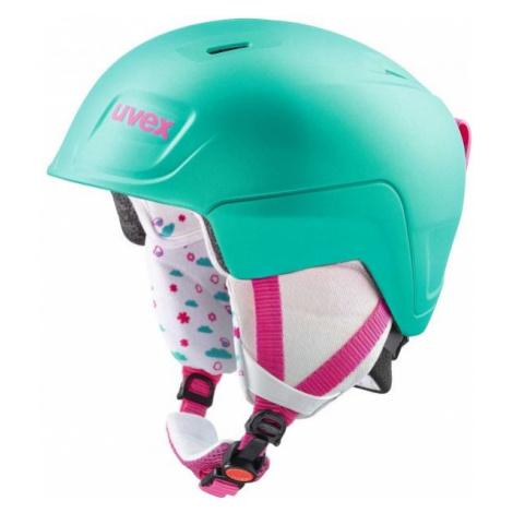 Uvex MANIC PRO green - Women's ski helmet