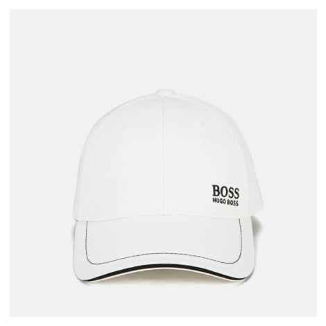 BOSS Men's Embroidered Logo Cap - White Hugo Boss