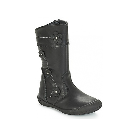 Citrouille et Compagnie JAMATIS girls's Children's High Boots in Black