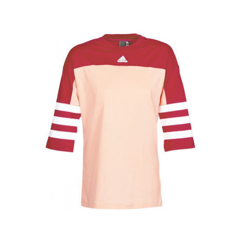 Adidas W SID JERSEY women's T shirt in Red