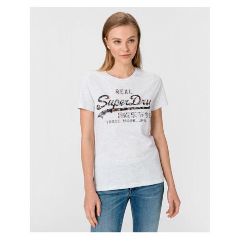 SuperDry Infill T-shirt Grey