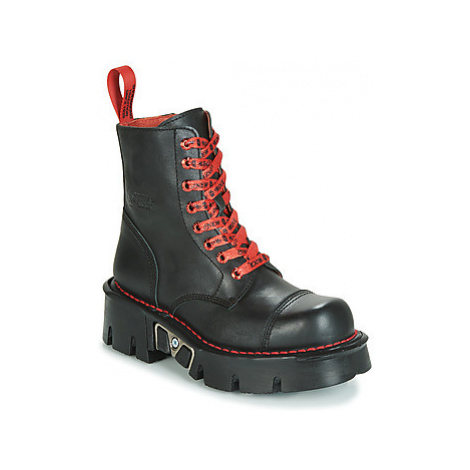New Rock M-MILI083CLACE-C1 women's Mid Boots in Black