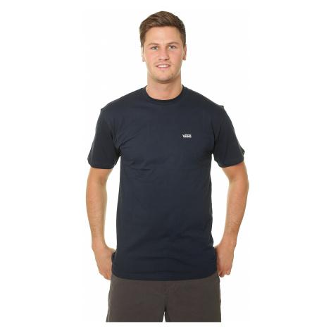 T-Shirt Vans Left Chest Logo - Navy/White - men´s