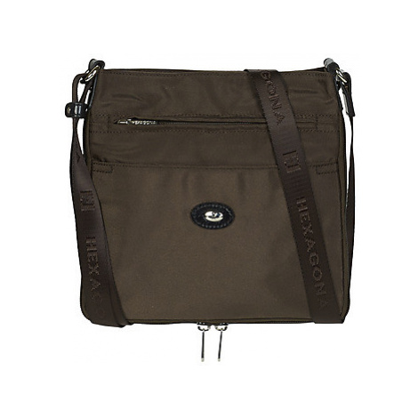 Hexagona - women's Shoulder Bag in Brown