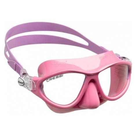 Cressi MOON JR MASK pink - Children's diving goggles