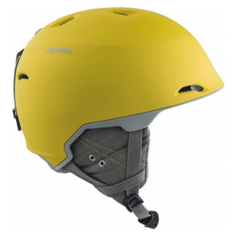 Alpina Sports MAROI yellow - Unisex ski helmet