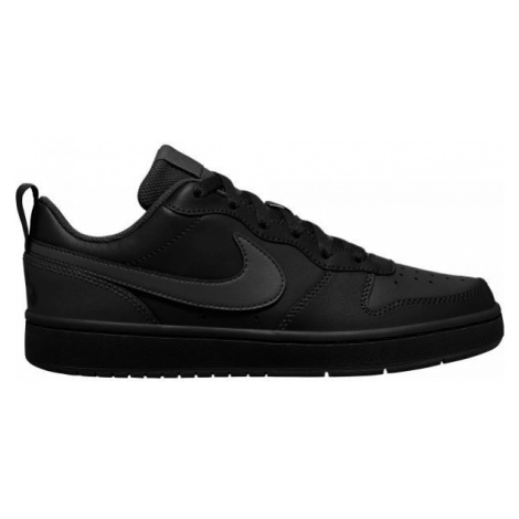 Nike COURT BOROUGH LOW 2 GS black - Kids' leisure shoes