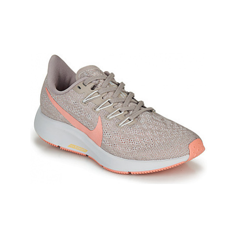 Nike AIR ZOOM PEGASUS 36 W women's Running Trainers in Beige