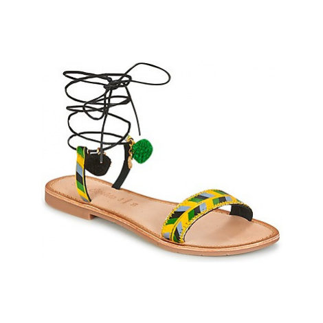 Lola Espeleta EDWINA women's Sandals in Green
