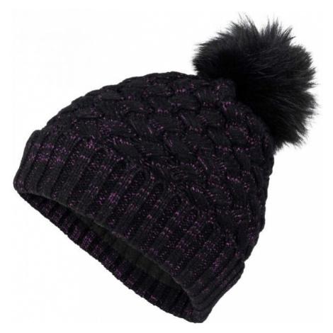 Lewro ASUMAN black - Girls' knitted beanie