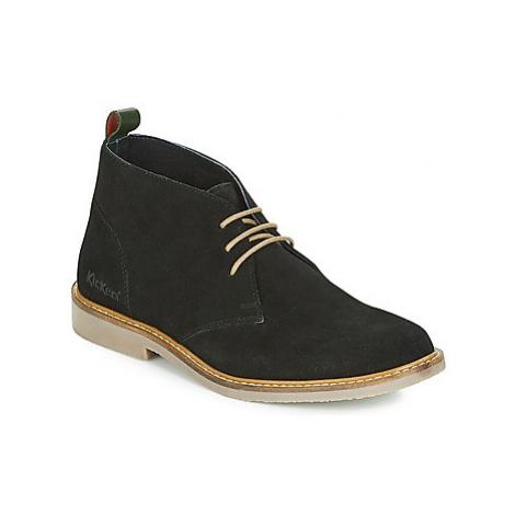 Kickers TYL women's Mid Boots in Black