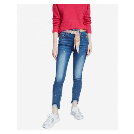 Desigual Denim Rainbow Jeans Blue
