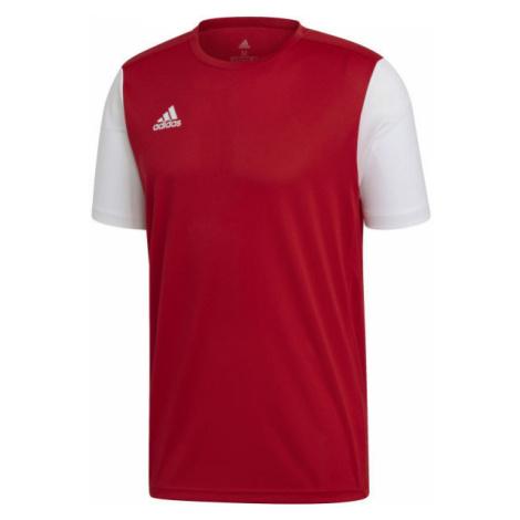 adidas ESTRO 19 JSY JNR red - Kids' football jersey
