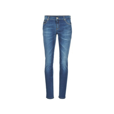 Versace Jeans Couture V PAVE STUDS women's Skinny Jeans in Blue