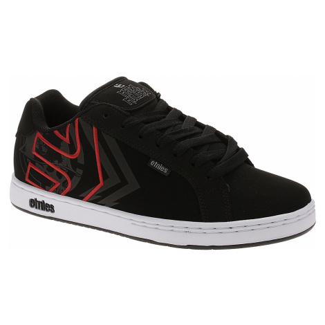 shoes Etnies Metal Mulisha Fader - Black/White/Red - men´s