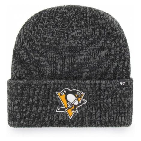 47 NHL Pittsburgh Penguins Brain Freeze CUFF KNIT grey - Winter beanie