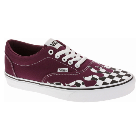 shoes Vans Doheny - Flame Check/Port Royale/White - men´s