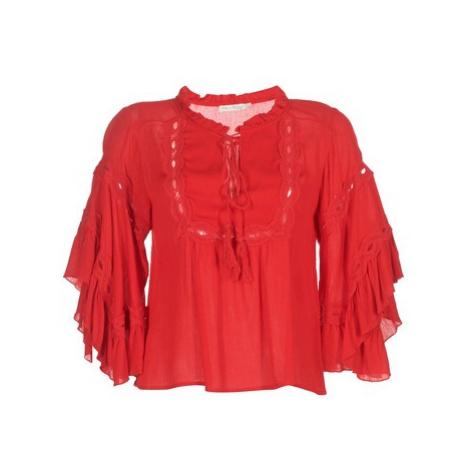 See U Soon 8112057 women's Blouse in Red