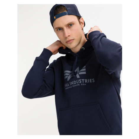 Alpha Industries Basic Sweatshirt Blue