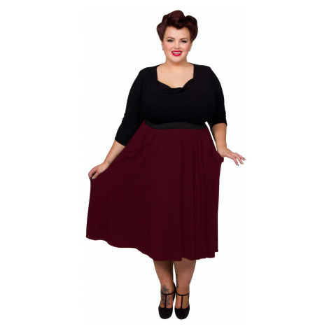 Pocket Skirt - Royal Red Scarlett & Jo