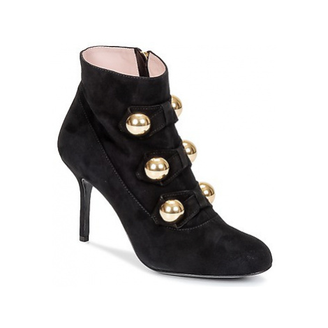 Moschino Cheap CHIC BOW women's Low Ankle Boots in Black