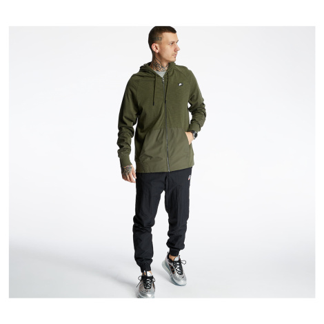 Green men's sports sweatshirts and hoodies