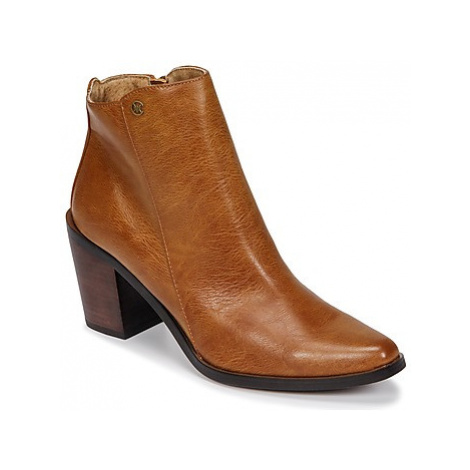 Chattawak LATINA women's Low Ankle Boots in Brown