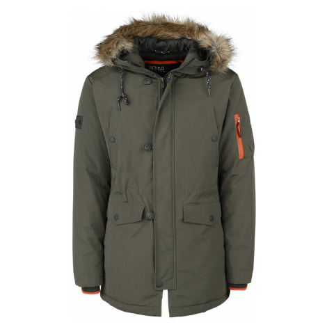 Indicode - Leicester - Coat - olive