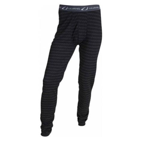 Ulvang 50FIFTY 2.0 M black - Men's functional woollen pants